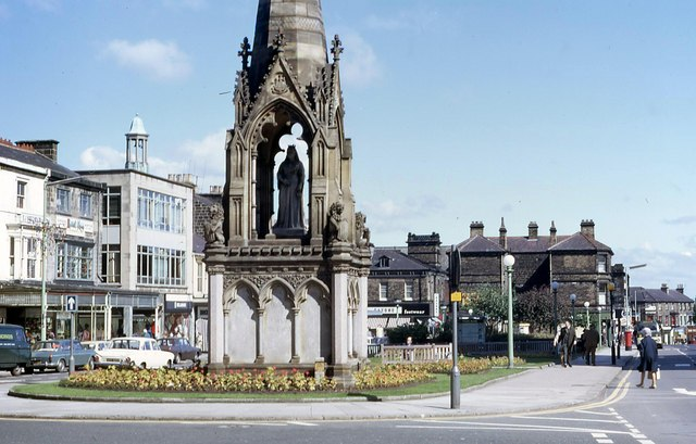 Station Square, Harrogate, c1970