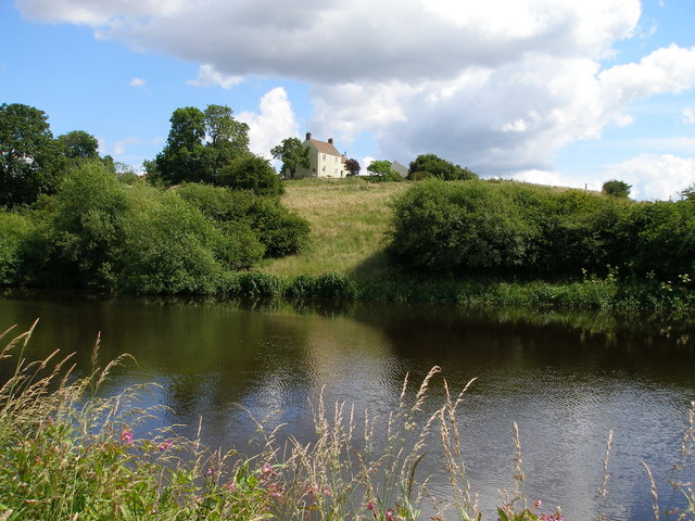 White House Farm adjacent to the Tees