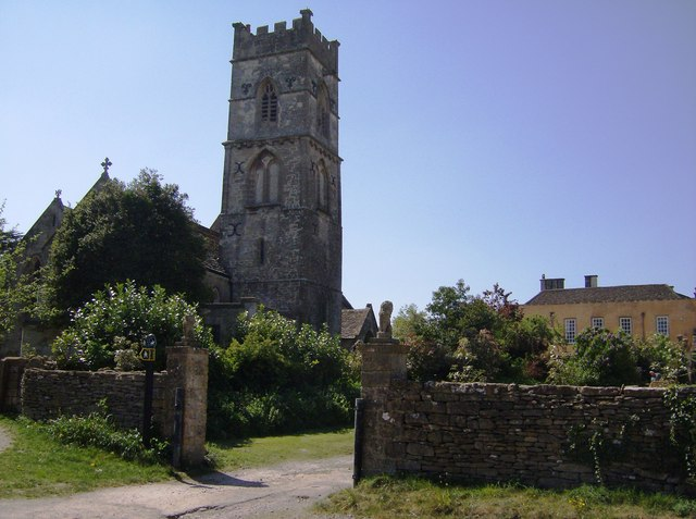 Luckington Church from the north-west