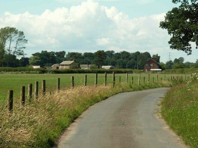 Road to Warwick Holme