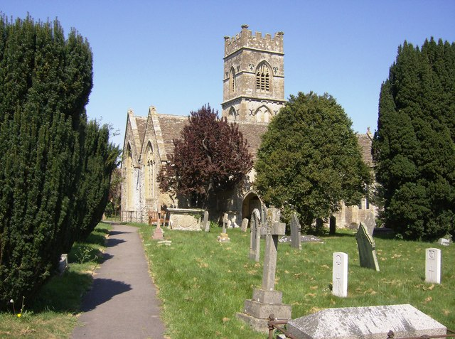 Luckington Church from the south