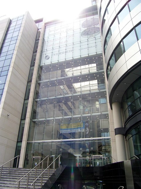 Entrance to Bridgewater Place.
