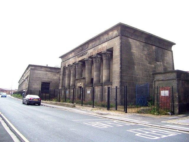 Temple Works,    Marshall Street,  Holbeck