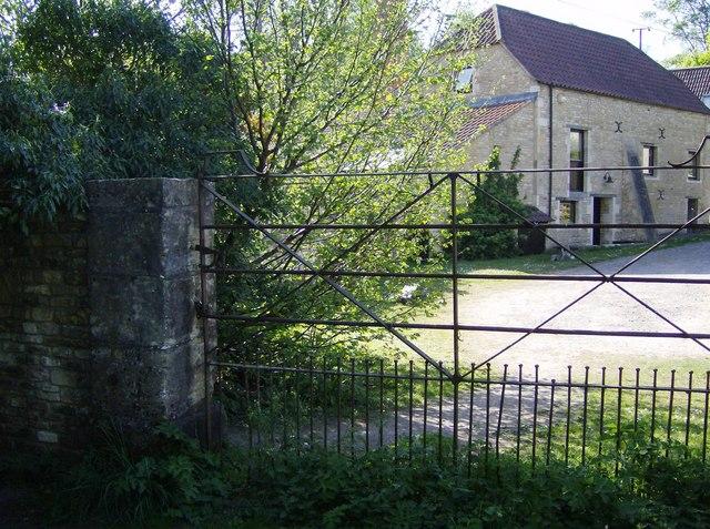 Gate at Nettleton Mill