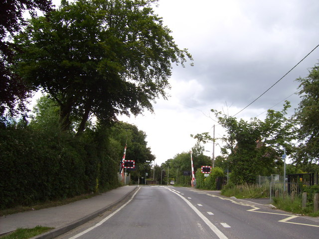 Level crossing at Hounsdown