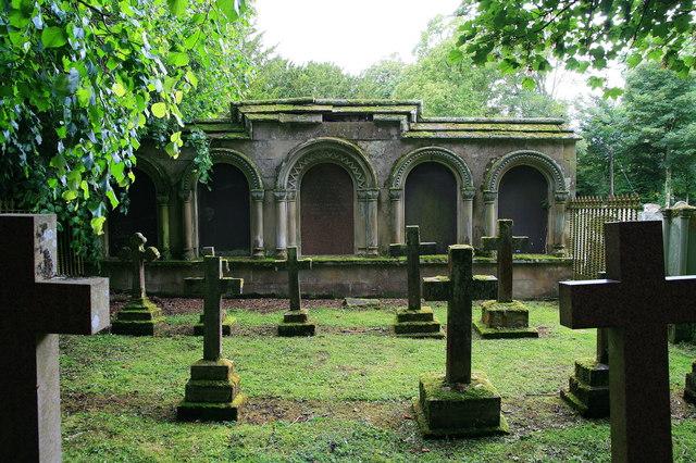 Enclosed burial ground, Longformacus Graveyard