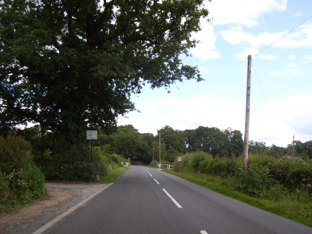 Cross roads at Winsor
