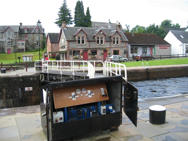 Lock at Fort Augustus