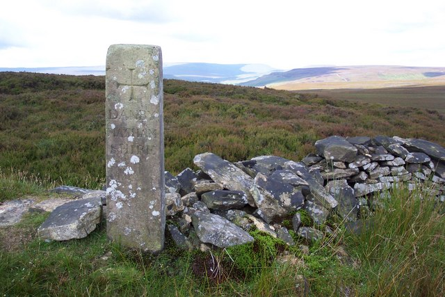 Boundary Stone on Brown Ridge