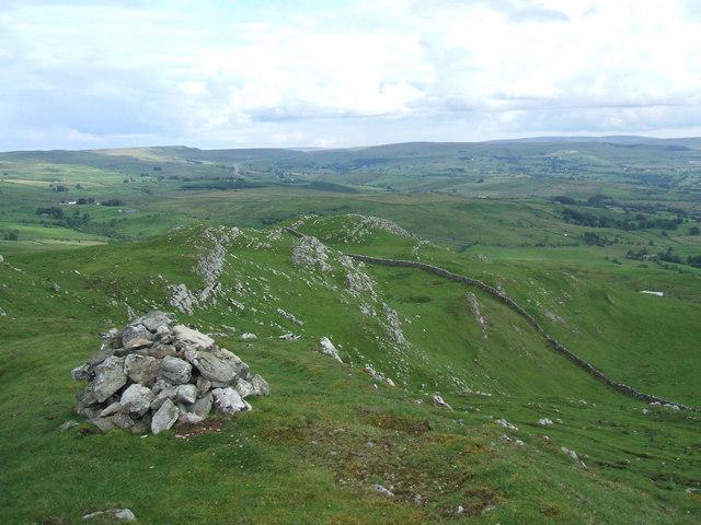 Eastwards from Mount Ida