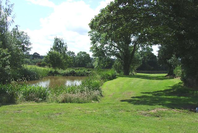 Landscaped Pool, Stapeley Farm, Shropshire
