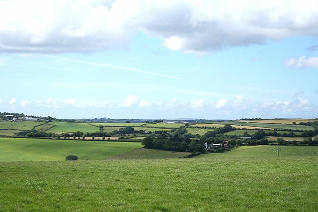 High Bickington: towards Lower Chapple
