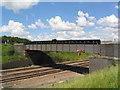TL2375 : Railway bridge, Great Stukeley Lodge by Tim Heaton