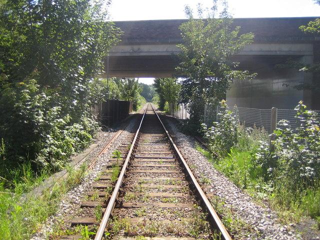 Marlow: Railway line