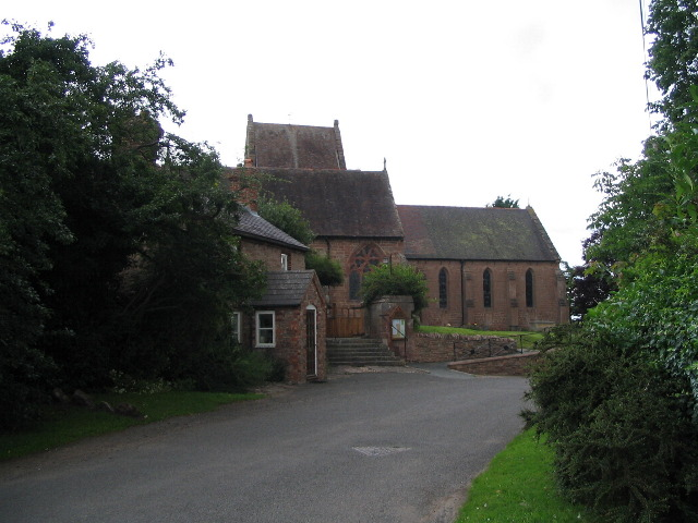 Church of St Michael and All Angels,  Alberbury