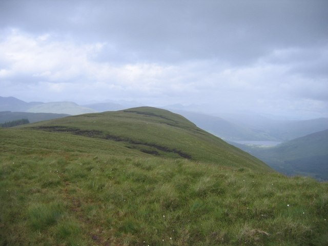 Summit ridge of Sgiath a'Chaise