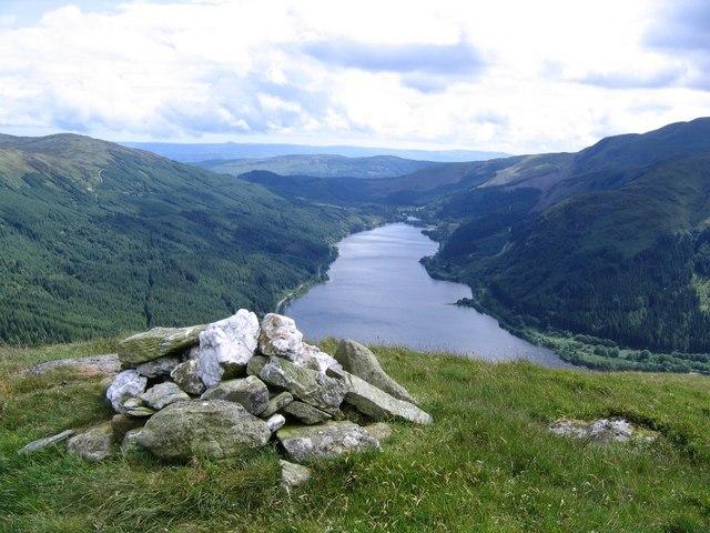 View down Loch Lubnaig