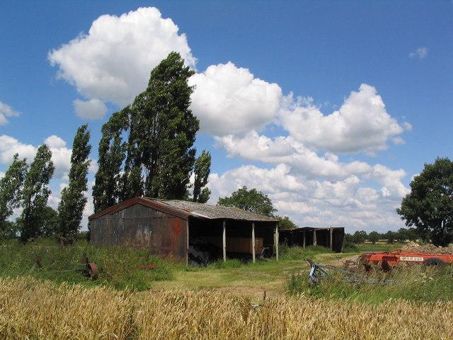 Barns near Broughton