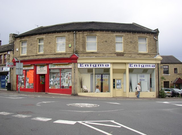 The former Co-op, Church Street / Thornhill Road, Rastrick