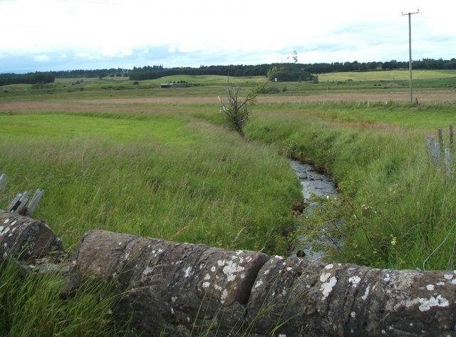 Looking North from Drumhead Bridge