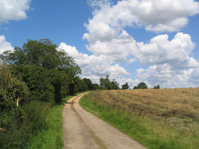Track from Lodge Farm
