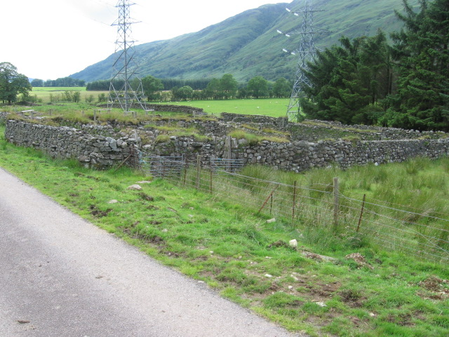 Sheepfolds in Glen Fyne