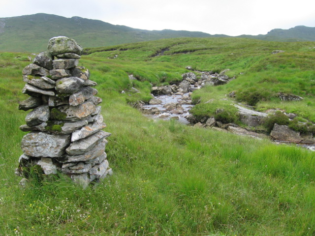 Cairn by Eas Riachain