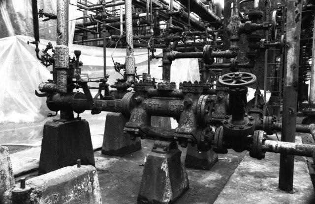 Burmah-Castrol Refinery, Stanlow
