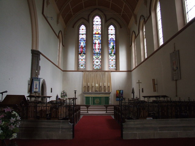 Interior of St Nicholas, Lincoln
