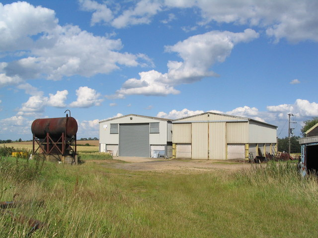 Farm buildings off Harris's Lane