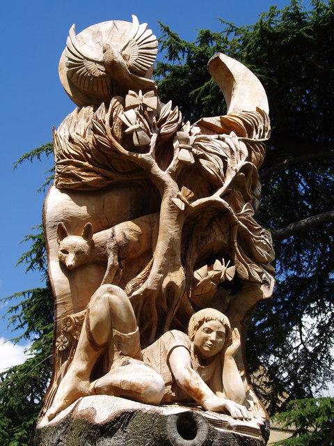 Pershore Abbey Sculpture