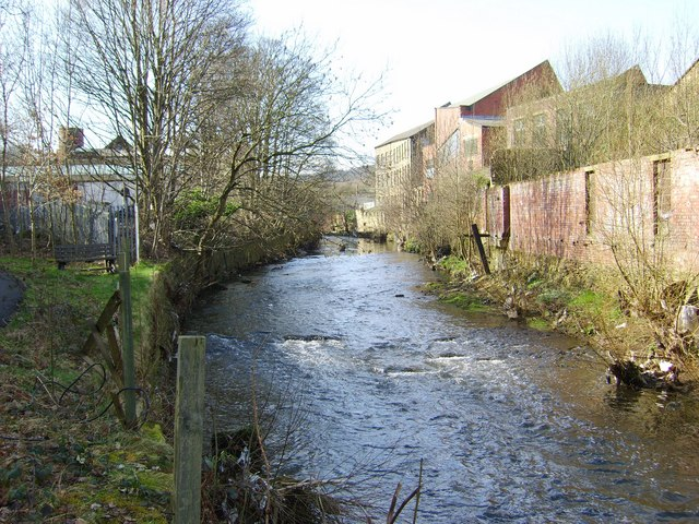 River Holme in Lockwood Huddersfield
