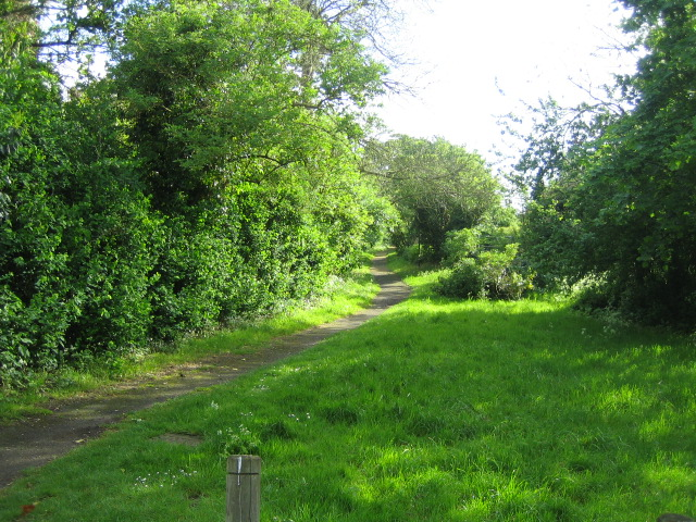 Footpath, Church Way , East Claydon