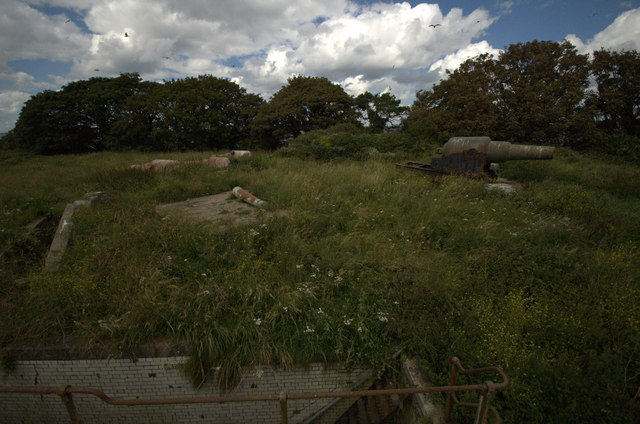 Drake's Island Upper Battery