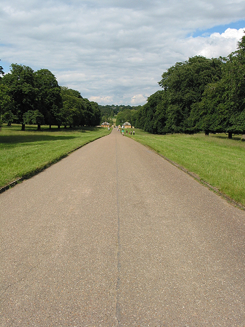 Cornbury Park - the drive to the NE exit