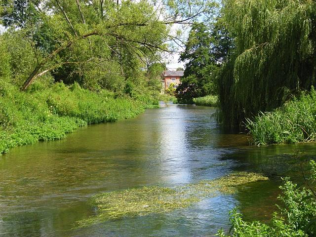 The River Avon, Amesbury