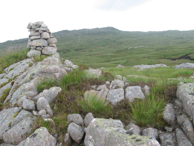 Cairn on small hill