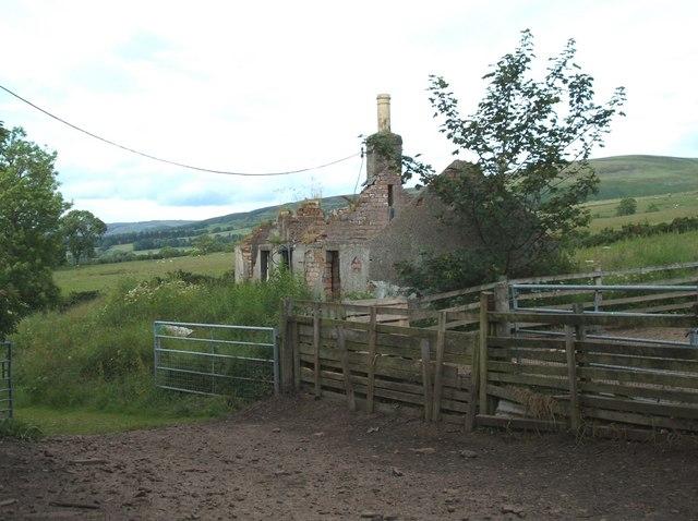 Derelict Bardrill Cottage