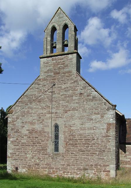 Aston Eyre Church, Shropshire (detail)