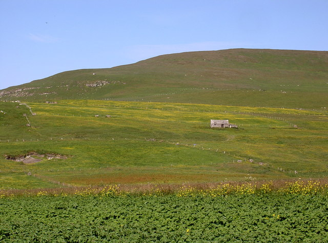 Cottage below Fitty Hill, Westside, Westray