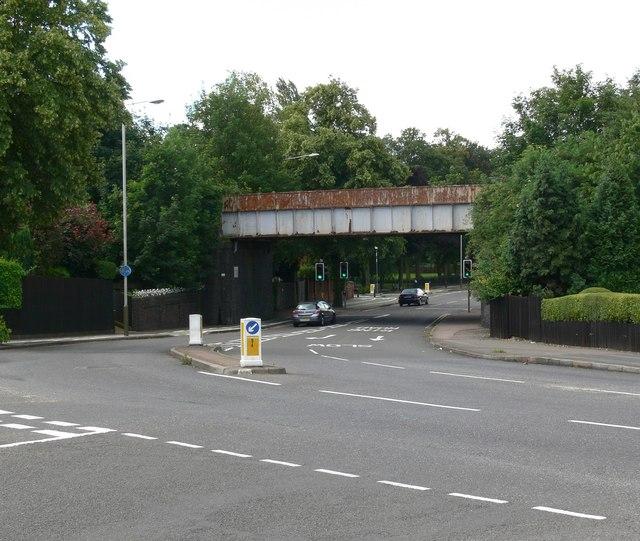 Braunstone Avenue Railway Bridge, Leicester