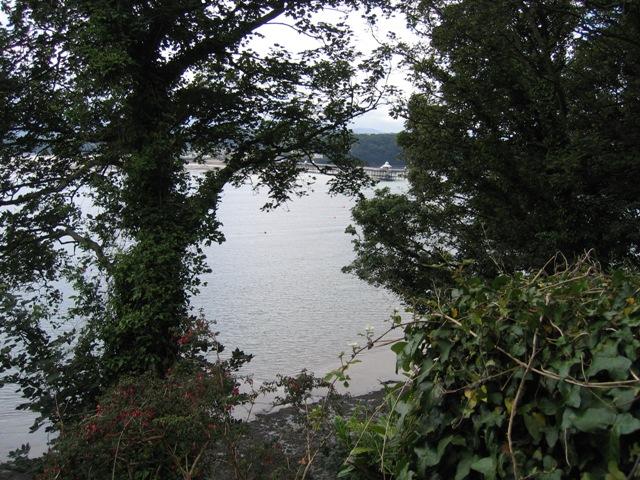The Menai Straits and Bangor Pier