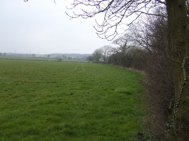 View north near Angers Farm
