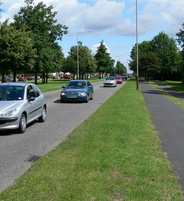 The A563, New Parks Way