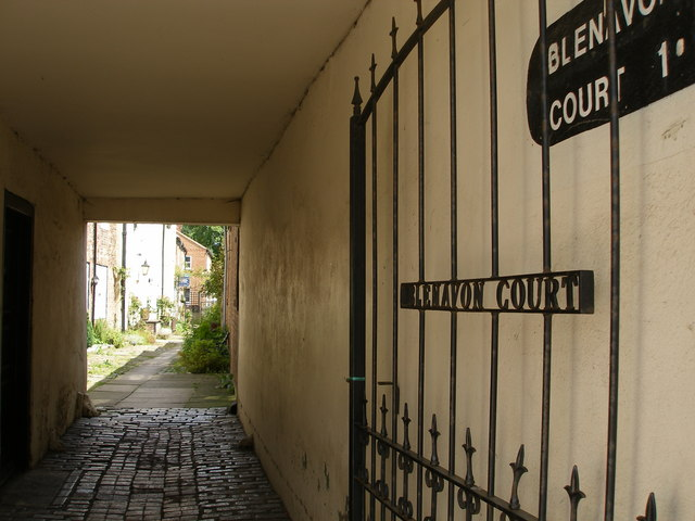 Blenavon Court, off the High Street