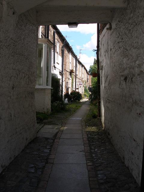 Carlton Terrace, off the High Street