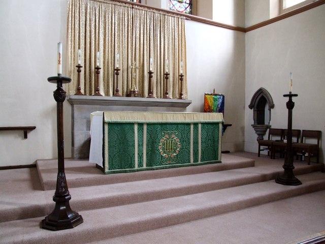 Interior of St Nicholas, Lincoln