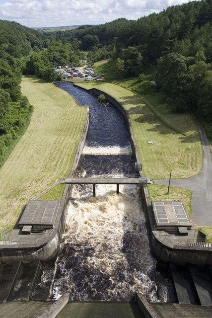 Thruscross Reservoir Spillway and Weir