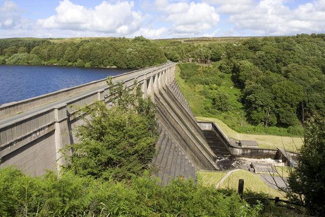 Thruscross Reservoir Dam