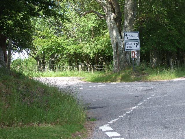 Tarland/Alford junction